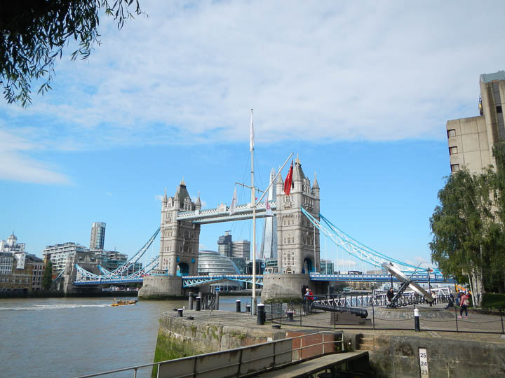 Tower Bridge — a steel bridge inside, in spite of the outer stonework