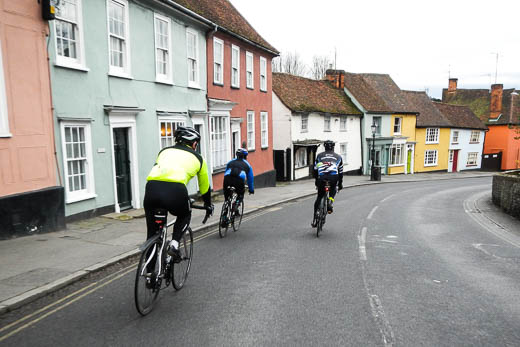 Descending through Thaxted