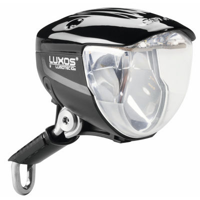 The excellent Busch & Müller Lumotec IQ2 Luxos U headlamp with USB charging